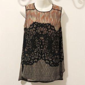 danielrainn Hi-Low Short Sleeve Shirt